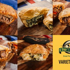 Our Variety Pie Pack - One of each of our 5 amazing pies!