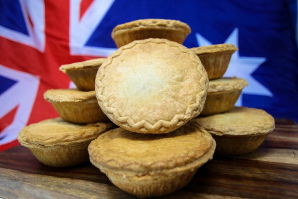 Australian pies 12 pack