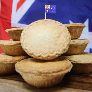 Australian pies 8 pack